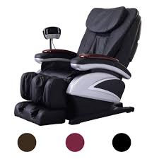 Recliner Massage Chairs Leather Health U0026 Beauty Electric Massage Chairs Ebay