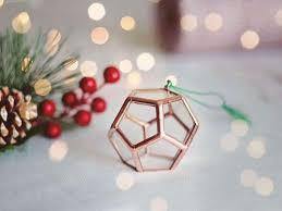 christmas ornaments unique geometric ornament set christmas ornaments unique