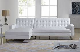 Cheap White Leather Sectional Sofa Modern White Leather Sectional
