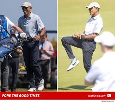 Vacation Obama Barack Obama Is Having A Blast On Vacation In Scotland Playing