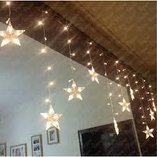 lights 30 warm white led indoor bedroom christmas string lights