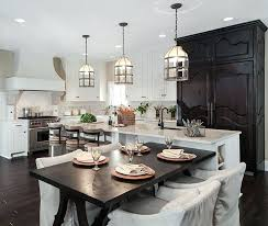 Lights For Kitchen Island by Cage Pendant Light Fixture Modern Vintage Black Color Pyramid