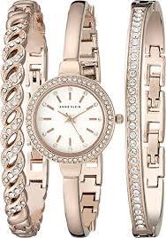 anne klein bracelet set images Anne klein women 39 s ak 2046rgst swarovski crystal accented rose jpg