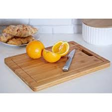 cutting board plate premier housewares chopping board with handle 34 x 26 cm bamboo