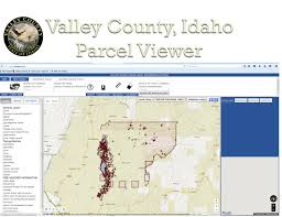 Idaho Time Zone Map Gis Maps Valley County Idaho