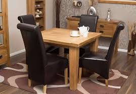 Oak Dining Room Tables And Chairs by Square Rustic Dining Table