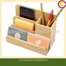 Office Desk Organizer by Chic Wooden Office Desk Organiser Pen Letter Business Card Holder