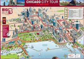 chicago map with attractions which chicago tours are best free tours by foot