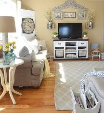 Farmhouse Sitting Room - living room for summer