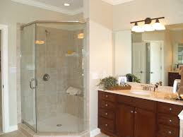 lovely standing shower bathroom design for your home decorating