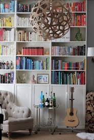 Ikea Billy Bookcase Extra Shelves Billy Bookcases With Olsbo Doors Tall Billy Stacked On Top Of