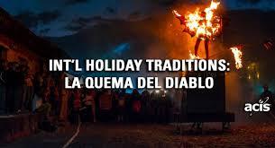 international traditions la quema diablo guatemala