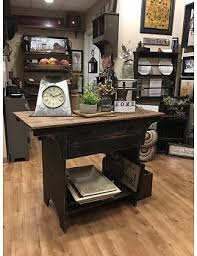 primitive kitchen island primitive nana s farmhouse