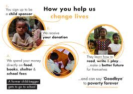 become a child sponsor my name is kumar foundation