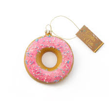pink sprinkled donut ornament 3 50 omg i need this a tree
