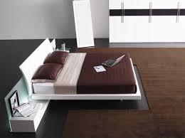 Contemporary White Lacquer Bedroom Furniture Aron Contemporary Bed Star Modern Furniture