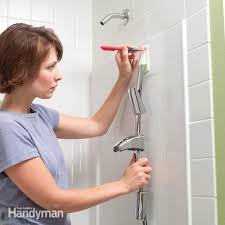 Plastic For Shower Wall by How To Install Towel Bars And Hooks On Fiberglass Tub And Shower