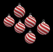 second marketplace animated peppermint ornaments