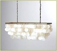 diy shell chandelier shell chandelier for comfy diy real capiz from the pendant home