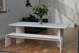 Benches For Dining Room Tables Dining Table White Dining Table With Bench Pythonet Home Furniture