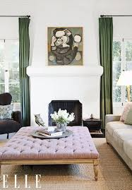 extra large ottoman coffee table 16 envy inducing celebrity art collectors envy celebrity and