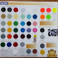 kobe all colors acrylic lacquer aerosol paint spray content 400cc