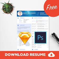 Free Cv Template Download Free Resume Template Download Psd Sketch Free Psd Ui Download