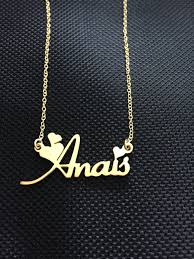 fine name necklace images Personalized name necklace gold heart jewelry custom nameplate jpg