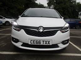 vauxhall zafira 2016 used 2016 vauxhall zafira tourer 1 4 turbo zafira tourer one