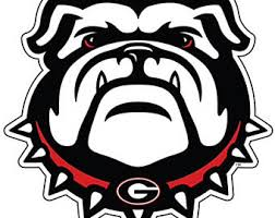Georgia Bulldog Rugs Uga Etsy