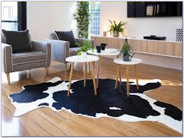 Australian Home Decor by Mocka Faux Cowhide Rug Living Room Decor Creative Rugs Decoration