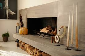 fireplace honed marble fireplace with floating hearth