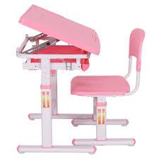 Toddler Desk Set Height Adjustable Children Desk Chair Set Ba Toddler Within Child