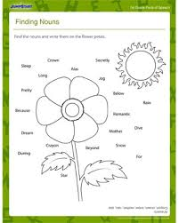 finding nouns u2013 free 1st grade grammar worksheet for kids u2013 jumpstart