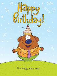 funny cartoon birthday cards vector 02 vector birthday vector