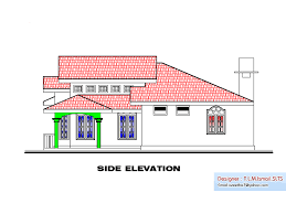 Floor Plan With Elevation by 2bhk Keralahouseplanner