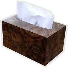 kleenex towel box cover for pop up box american walnut burl
