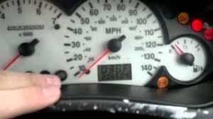 2001 ford focus check engine light ford focus mk1 dashboard diagnostic test