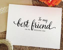 best friend wedding gift best friend wedding etsy