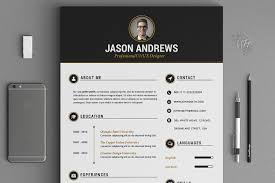 Best Resume Font Mac by The Elegant Resume Cv Set Template Resume Templates Creative