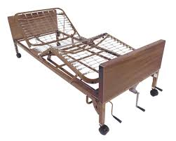 Height Of Bed Frame Multi Height Manual Hospital Bed Drive