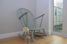 Ercol Windsor Rocking Chair Ercol Duck Egg Vintage Rocking Chair