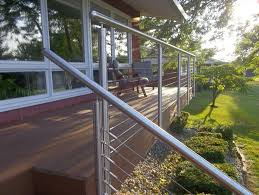stainless steel deck railing ideas u2014 doherty house
