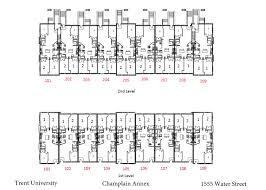 champlain college housing trent university