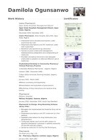 pharmacy resume exles exle of cv for pharmacy residency assignment writing is easy