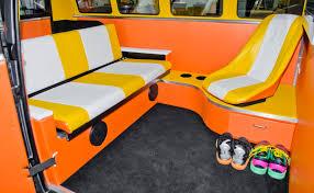 volkswagen bus interior cortland finnegan u0027s 150 000 back to the future vw bus
