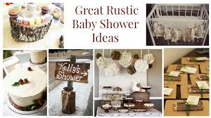 rustic baby shower 20 rustic baby shower ideas rustic baby chic