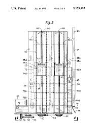 Household Trash Compactor Patent Us5179895 Trash Compactor Google Patents