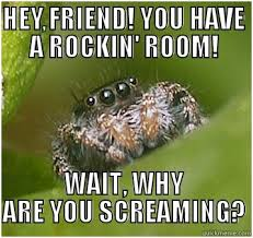 Afraid Of Spiders Meme - 5 reasons spiders aren t that scary peta2