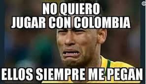Colombia Meme - los divertidos memes del partido entre colombia y brasil la mega